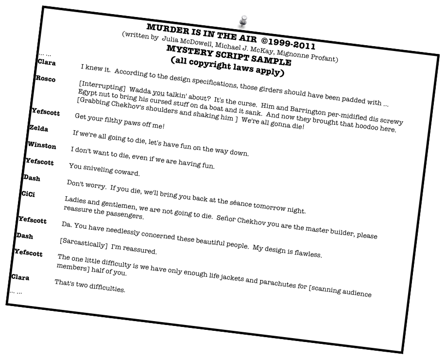 Tactueux image pertaining to free murder mystery scripts printable